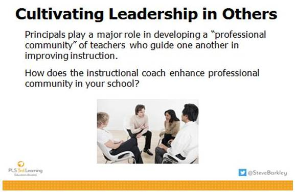 developing principals as instructional leaders