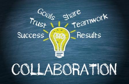 Collaboration - Business Concept
