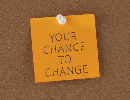 Reminder note your chance to change