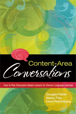 Image of Content-Area Conversations Book