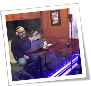 Steve in the recording studio