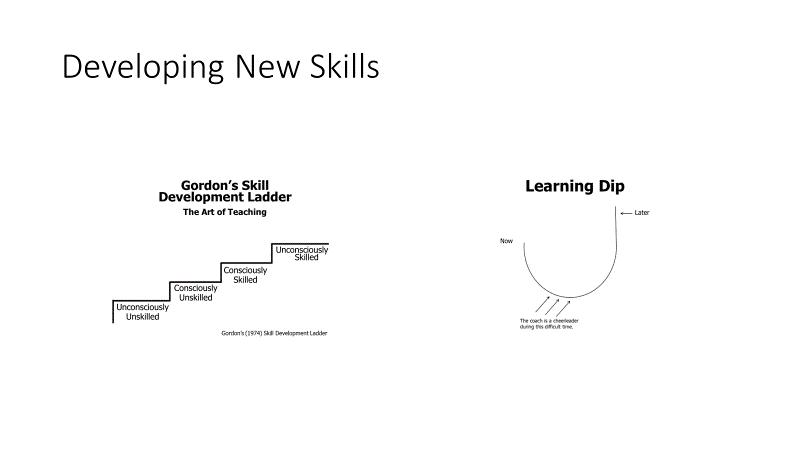 Developing new skills