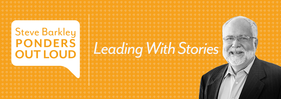 Leading with Stories Title