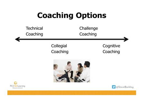 Coaching Options: Technical, Challenge, Collegial and Cognitive Coaching Concept