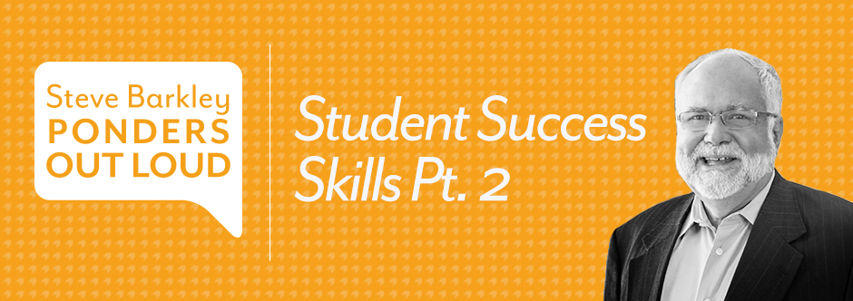 steve barkley, student success skills