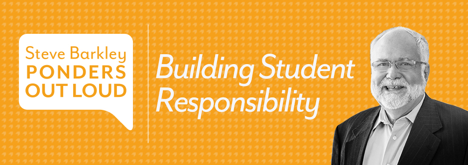building student responsibility