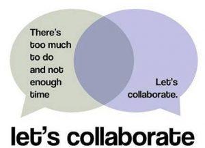 Let's Collaborate Decorative Image