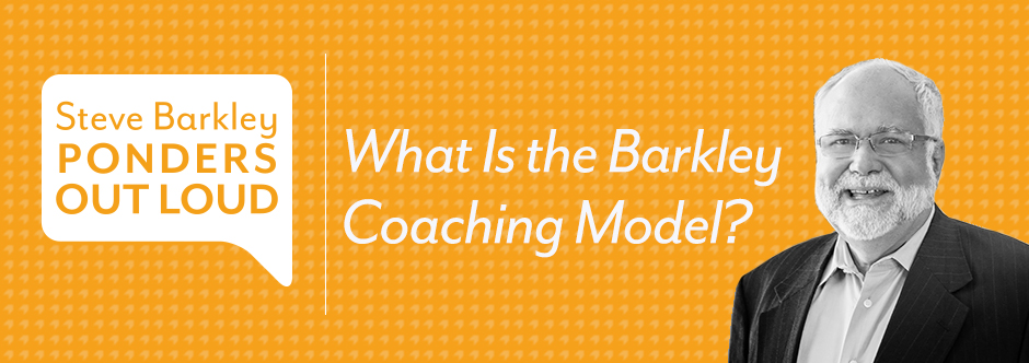 steve barkley, what is the barkley coaching model?