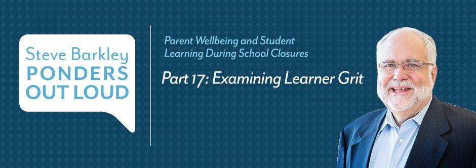 steve barkley, examining learner grit