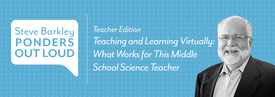 Podcast for Teachers - Teaching and Learning Virtually: What Works for This Middle School Science Teacher
