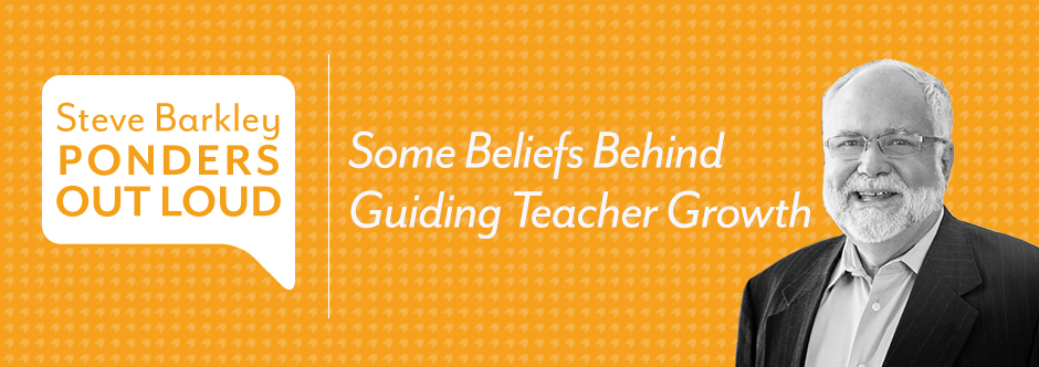 som ebeliefs behind guiding teacher growth