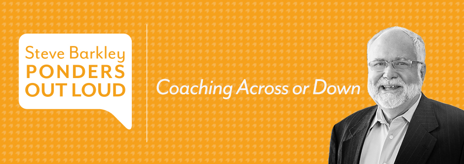 Coaching Across or Down