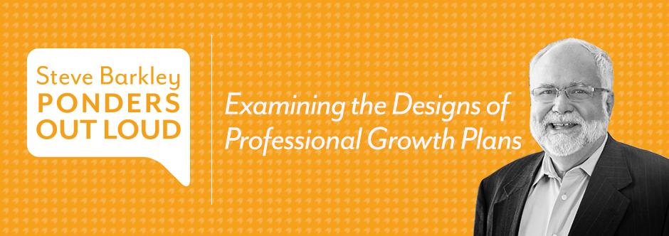 Examining the Designs of Professional Growth Plans
