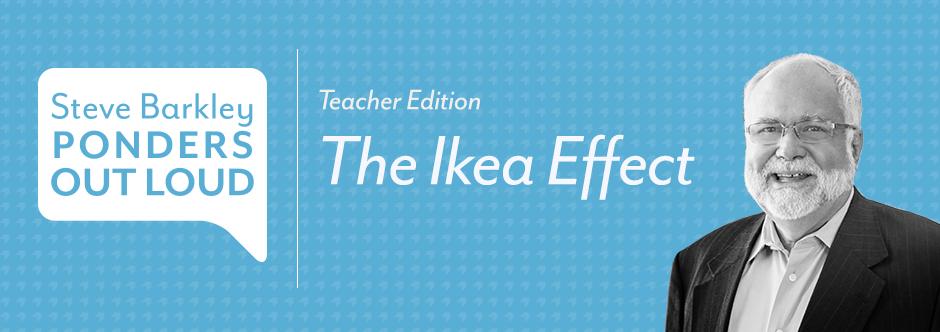 The Ikea Effect