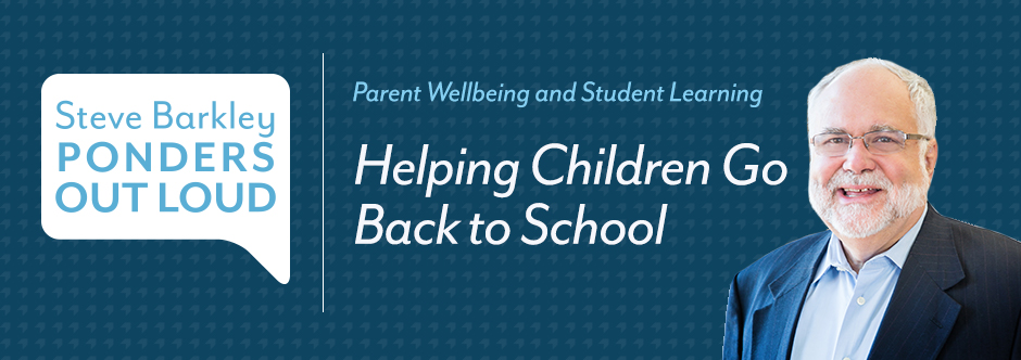 Podcast for Parents: Helping Children go Back to School