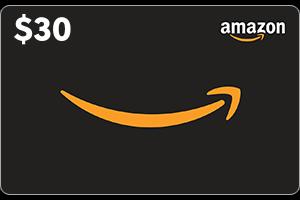 $30 Amazon GC