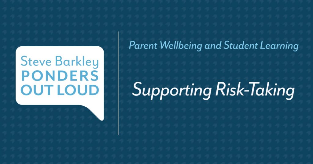 supporting risk-taking